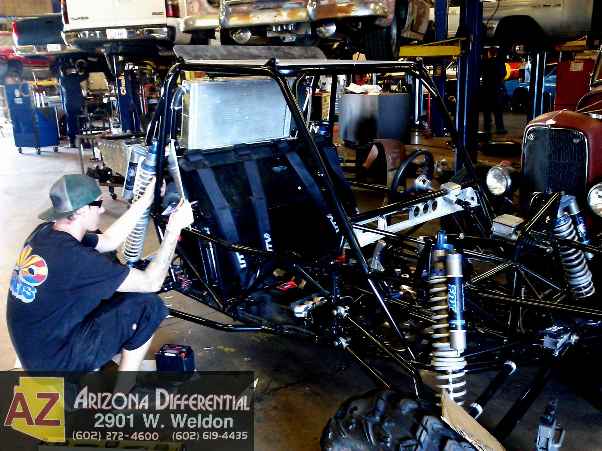 Arizona Differential Fabrication 2